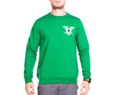 Volcom Men's Treasury Crew Fleece - Green
