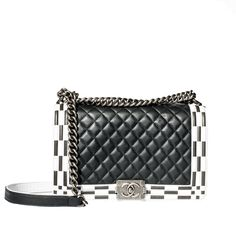SALE OF THE DAY: Chanel Boy Quilted Flap Bag.   Price @shopsugarsgone $2950 v. Tradesy's $5300   Stay chic with this luxury Chanel medium handbag with silver hardware. A staple for every fashionable woman's closet.  check it out at: http://sugarsgone.com/product/chanel-bw-bag-copy/ #chanel #leather #designerdeals #sugarsgone #lifestillsweet #womensfashion #consignment #southerncalifornia