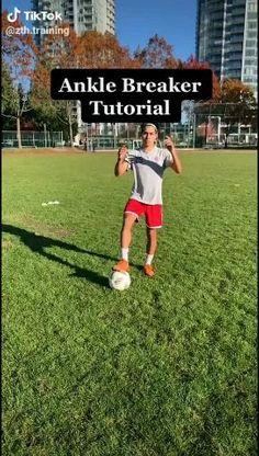 Soccer skill move tutorial Soccer Footwork Drills, Soccer Practice Drills, Football Training Drills, Football Workouts, Workouts For Soccer Players, Soccer Player Workout, Soccer Tips, Soccer Skills For Kids, Soccer Videos