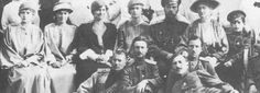 TheMauveRoom, The Imperial Family with some soldiers c. 1915