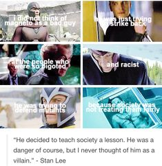 I agree. He is an antagonist in some ways, but he is not a villain.