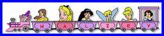 Disney Princess Personalized Train Set 1/9