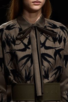 Pin for Later: You Won't Believe What the Clothes at Fashion Week Look Like Up Close Rochas Fall 2015