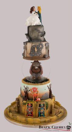 Black Cherry Cake Company made this Labyrinth cake.