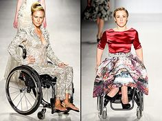 Disabled Models Hit the Runway in Wheelchairs at Fashion Week: Photos - Us Weekly #nyfw