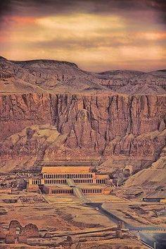 Queen Hatshepsut's Mortuary Temple,