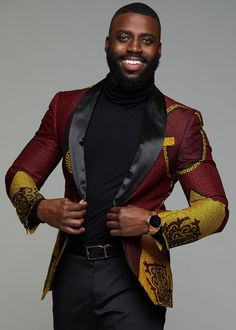 african print dresses Style Bestylish and unique at your next formal event in our Rammy African print blazer jacket! Blazer accommodates heights up to Description: F Modern African Clothing, African Clothing For Men, African Print Fashion, Africa Fashion, African Fashion For Men, Ankara Fashion, Tribal Fashion, African Women, Black Men's Fashion