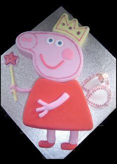 Peppa pig cake | by Cake Bliss