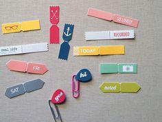 Free Paperclip Flags from bananafishstudio