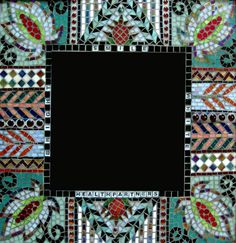 1000 Images About Mosaic Square Frames Mirrors On