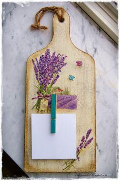 decoupage -----  cutting board------------- deska do krojenia -------  OWOCE MOJEJ WYOBRAŹNI: DECOUPAGE - deseczki