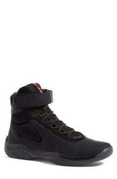Prada Linea Rossa 'Punta Ala' High Top Sneaker (Men)