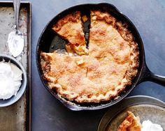 Mrs. Carter's Skillet Apple Pie  - CountryLiving.com