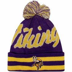 new style 5df87 d9f62 Minnesota Vikings Youth Vintage Cuffed Beanie - Purple