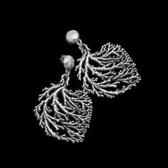 Silver Earings CORAL COLLECTION
