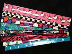 Teen Craft- Tutorial on Duct Tape Slap Bracelet