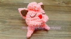 귀염둥이 푸린-♥ 포켓몬고 캐릭터 코바늘로 만들기~!! プリン Jigglypuff pokemongo by crochet