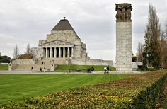 Melbourne War Memorial or Shrine of Remembrance