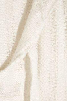 The Elder Statesman - Hooded Cashmere And Silk-blend Tunic - White - x large