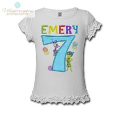 8bdd0d92820 Inside Out Birthday Inside Out shirt Joy by Whippersnappersandwh