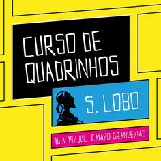 Vem coisa boa aí! @loboesse vem de Porto Alegre especialmente para ministrar seu curso de quadrinhos em Campo Grande. Para mais informações acompanhe a página do curso no facebook/cursodequadrinhoslobo ou entre em contato conosco pelo email contato@ricebean.com.br