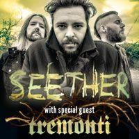 #Win #tickets to #Seether with Tremonti at #Nashville War Memorial Auditorium 5/19. Enter in the #Thrillcall app.