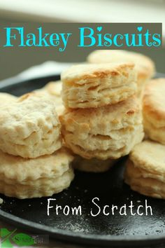 Flakey Biscuits from Scratch by Angela Roberts