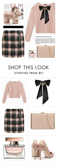 """""""Untitled #601"""" by jovana-p-com ❤ liked on Polyvore featuring Max&Co., Oscar de la Renta, Markus Lupfer, Dolce&Gabbana and Rupert Sanderson"""