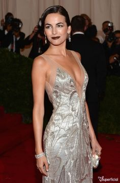 Camilla Belle in Gorgeous Ralph Lauren Dress at the Met Gala