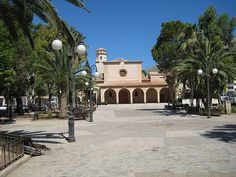 Church Square Puerto Pollensa Menorca, Ibiza, Puerto Pollensa, Barcelona, Holiday Places, My Happy Place, Wedding Dreams, Where To Go, Places Ive Been