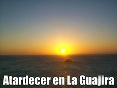 El morro frente al faro en el cabo de la vela, La Guajira, Colombia. Paraiso Natural, The Good Place, Celestial, Sunset, World, Places, Outdoor, Cabo De La Vela, Light House