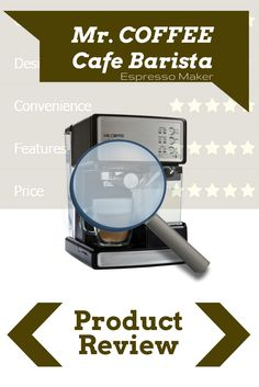 Is the Mr. COFFEE Café Barista the best espresso machine under $500? In this review you get the pros and cons and many more useful features you must know.