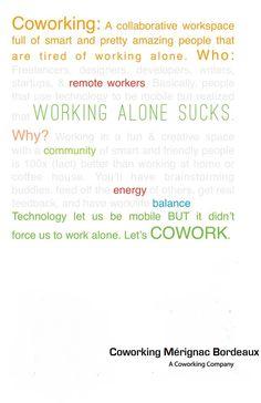 http://www.coworking-merignac.com/  #coworking