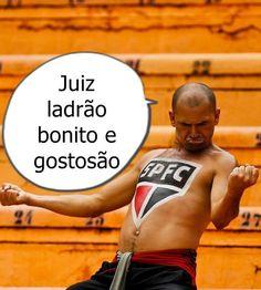 SPFW reclama de juiz contra o Santos... Cade o @roxmo e suas risadas da semana passada...
