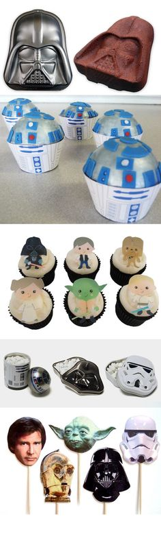 Must have all the Star Wars baked goods and confections!!!!