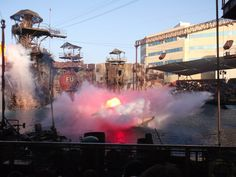 Waterworld Show Universal Studios Hollywood