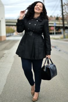 Plus sized Leather coats are both fashionable and functional. These coats come in various sizes and styles and help achieve various looks from rock chic to casual.