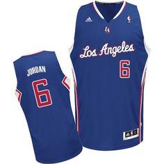 d5c60ba2d DeAndre Jordan Swingman In Royal Blue Adidas NBA Los Angeles Clippers  6  Men s Alternate Jersey