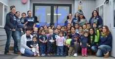 The children from the HU Early Learning Center show their Seahawks pride!