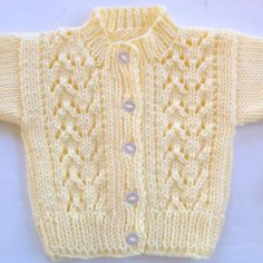Baby hand knit sweater - Baby yellow cardigan - 0 to 6 months - Baby yellow sweater - Infant hand knits - Baby shower gift Hand knitted baby sweater Baby cardigan yellow 0 to 6 Baby Cardigan Knitting Pattern Free, Crochet Baby Cardigan, Hand Knitted Sweaters, Baby Knitting Patterns, Baby Patterns, Knitting Sweaters, Baby Boy Cardigan, Yellow Cardigan, Knitting For Kids