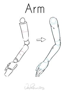 How to Draw the Arm - JeyRam Art