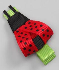 Ladybug Clip by Sugar Baby Hairbows