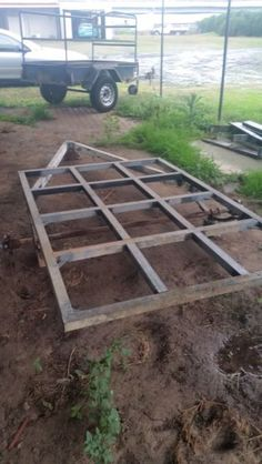 Selling motorbike or box trailer frame I was making a Motorbike trailer  box trailer but Ive ran out of time as my wife is having our second child has 4 leaf ..., 1116249276