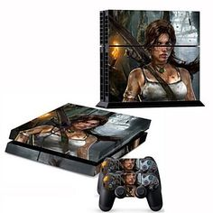 The Last Of Us B Limited Edition Decals Cover Gamesmonkey Practical Skin Ps4 Slim Faceplates, Decals & Stickers