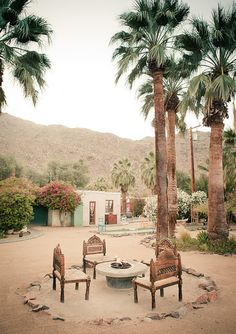 Korakia Resort Palm Springs | photo by Gary Ashley of The Wedding Artist Collective | 100 Layer Cake