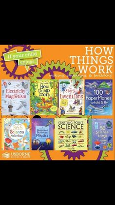 Science inventions experiments how stuff works usborne books & more paper airplanes inventions homeschool
