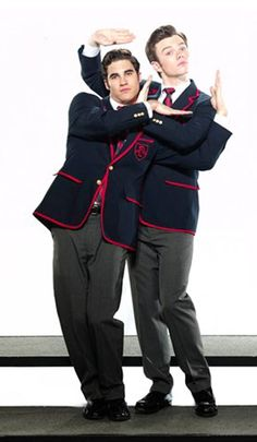 Klaine Warblers. This pic is sooo cute.