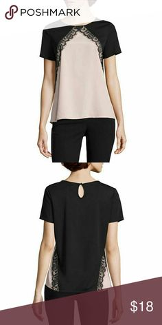 Worthington Short Sleeve Crew Neck T-Shirt-Talls Sleeve Length: Short Sleeve Neckline: Crew Neck Fabric Description: Knit Fabric Content: 100% Polyester Country of Origin: Imported Worthington Tops Blouses