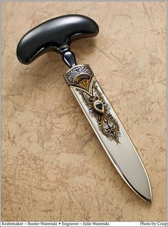 Pretty push dagger