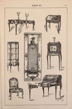 Hey, I found this really awesome Etsy listing at https://www.etsy.com/listing/237963068/french-louis-xv-furniture-designs-large